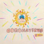 Nimm dir, was du brauchst. - Cartoon, Comic, Coronavirus, Covid, Covid-19, Karikatur, lustig, Virus - (Niederleis, Niederösterreich, Österreich)