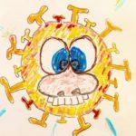 Ich bin nicht auf der Welt, um so zu sein wie andere mich gern hätten! - Cartoon, Comic, Coronavirus, Covid, Covid-19, Karikatur, lustig, Virus - (Niederleis, Niederösterreich, Österreich)