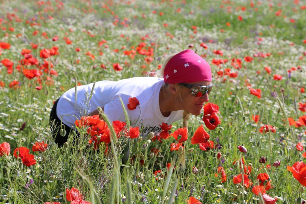 Wo Blumen blühen, lächelt die Welt. - Blumen, Kamptal, Mohnblumen, Person, Wiese - HOFBAUER-HOFMANN Sofia - (Schönberg, Niederösterreich, Österreich)
