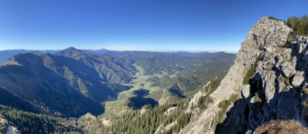 Richtung Westen ist das Panorama am Besten - Alpen, Ausblick, Berg, Felsen, Felswand, Gebirge, Gippel, Himmel, Landschaft, Mürzsteger Alpen, Natur, Panorama - (Gschaidl, Kernhof, Niederösterreich, Österreich)