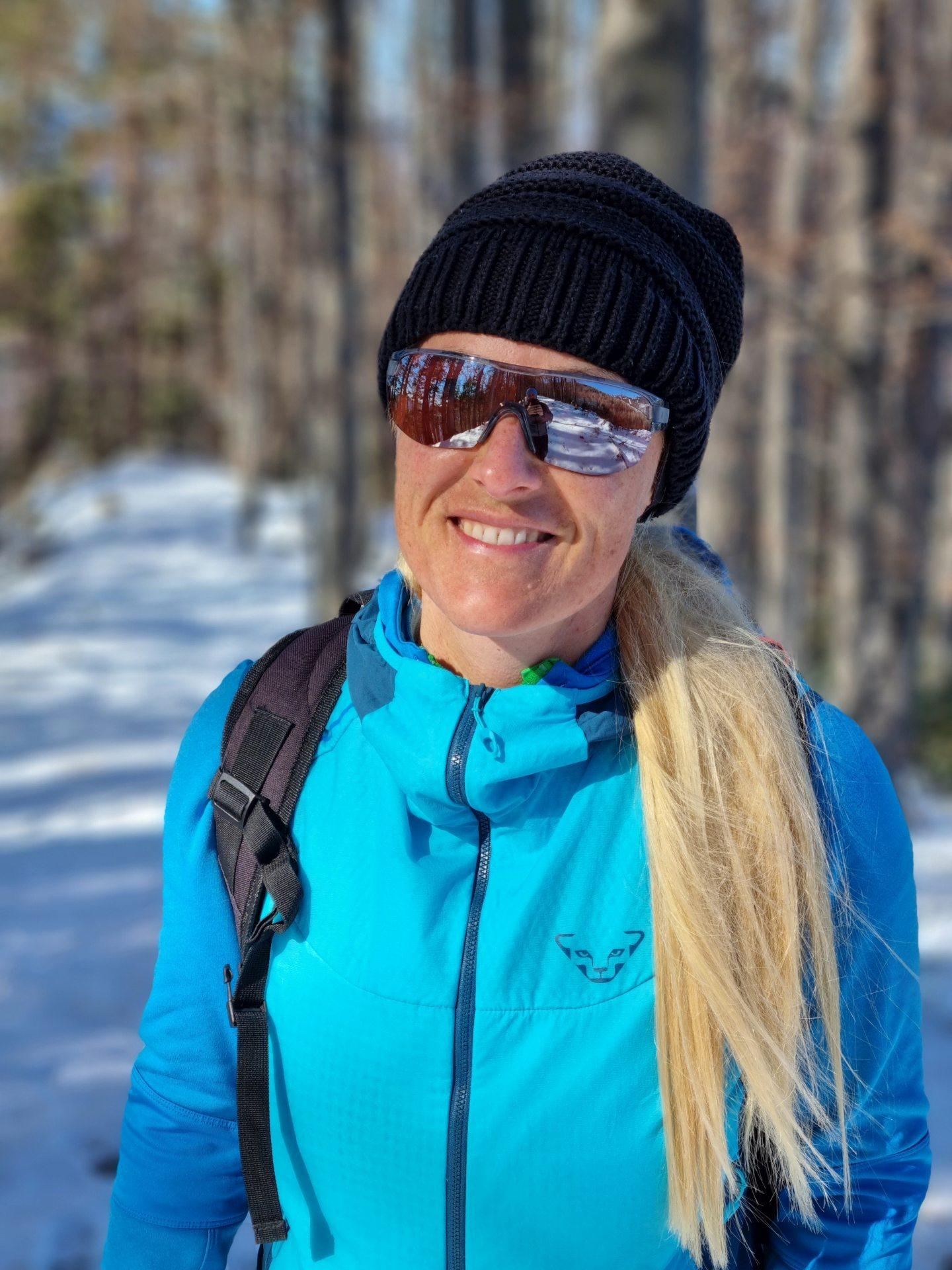 Schnee macht das Lächeln schee! - Dynafit, Personen, Portrait, Porträt, Ramsau, Schnee, Unterberg - HOFBAUER-HOFMANN Sofia - (Adamsthal, Kieneck, Niederösterreich, Österreich)